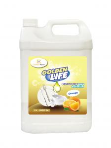 Nước rửa bát Golden Life cam 5L